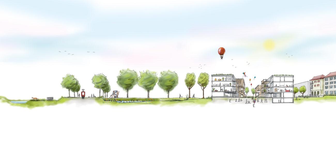 WBG Huebergass Illustrationen