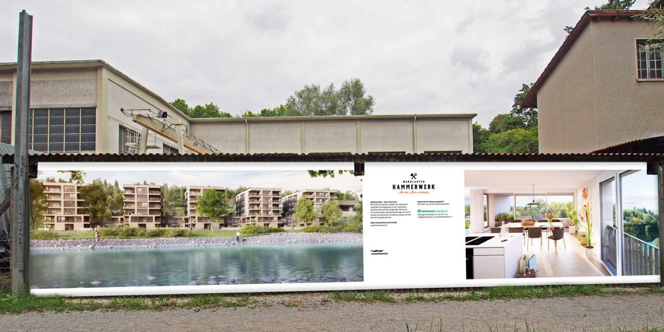 Hammerwerk-Immobilien-Portfolio-Vermarktungstafel-Aare