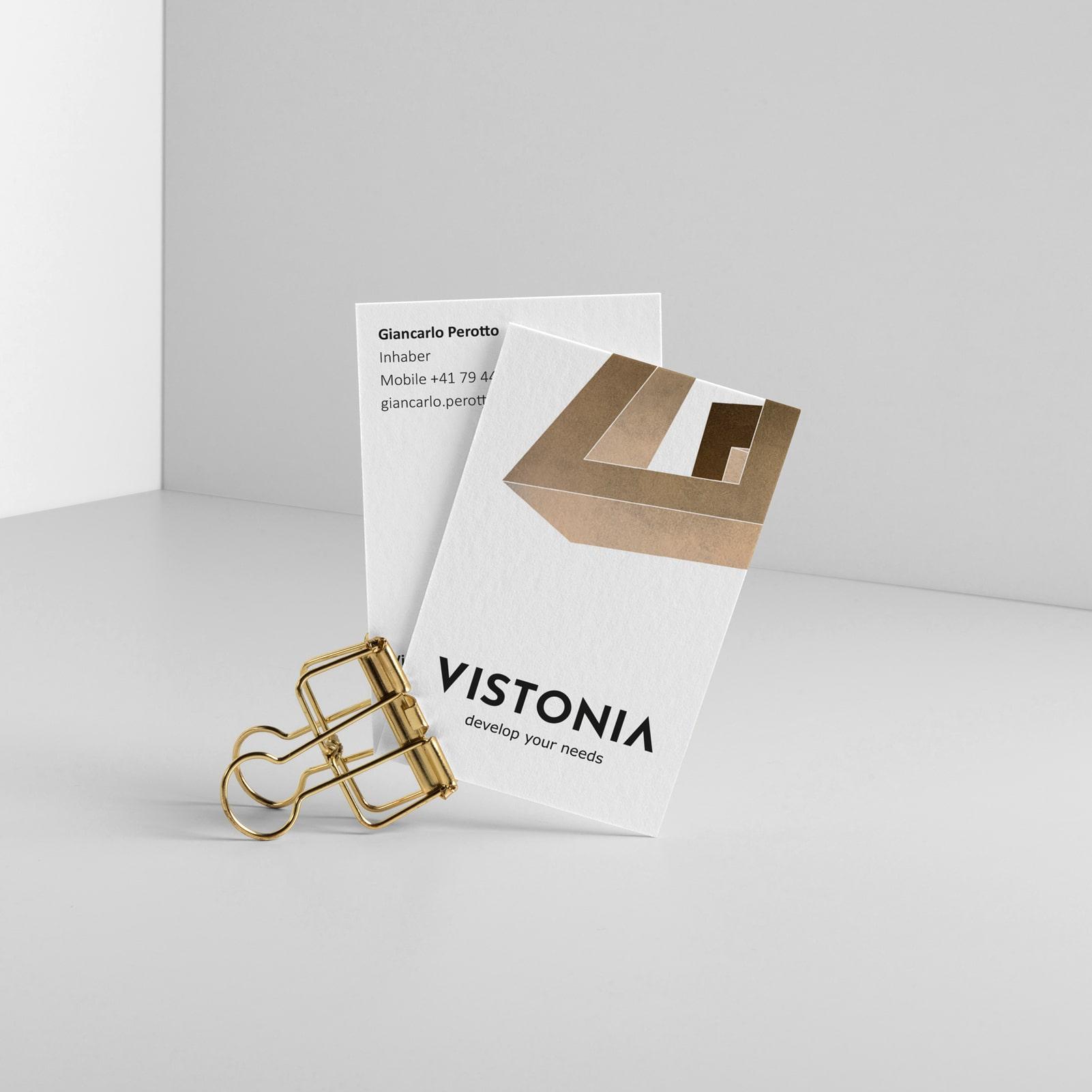 consulting branding Vistonia