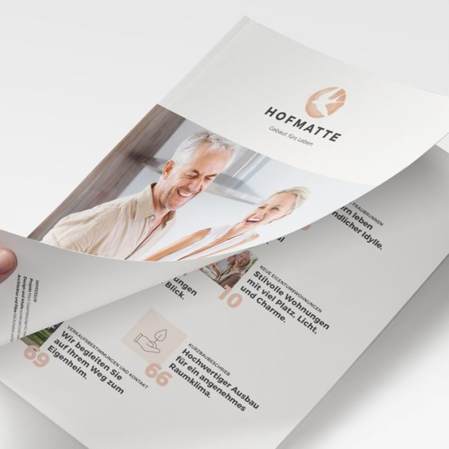 Hofmatte Broschüre