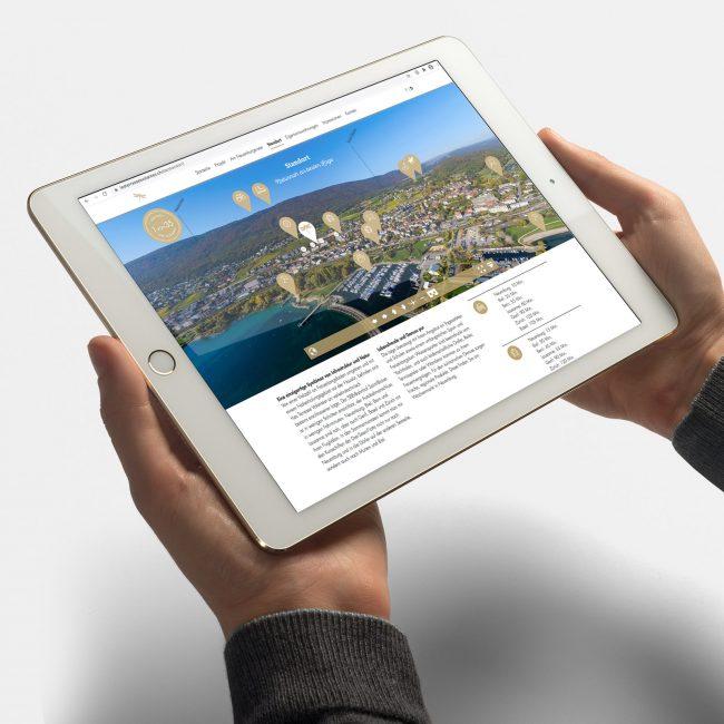 Les Terrasses Volantes Webseite