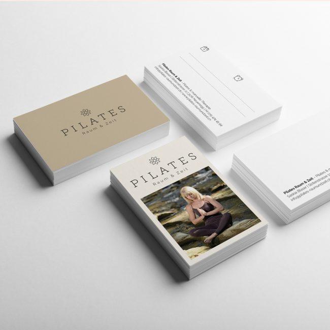 Pilates Visitenkarten