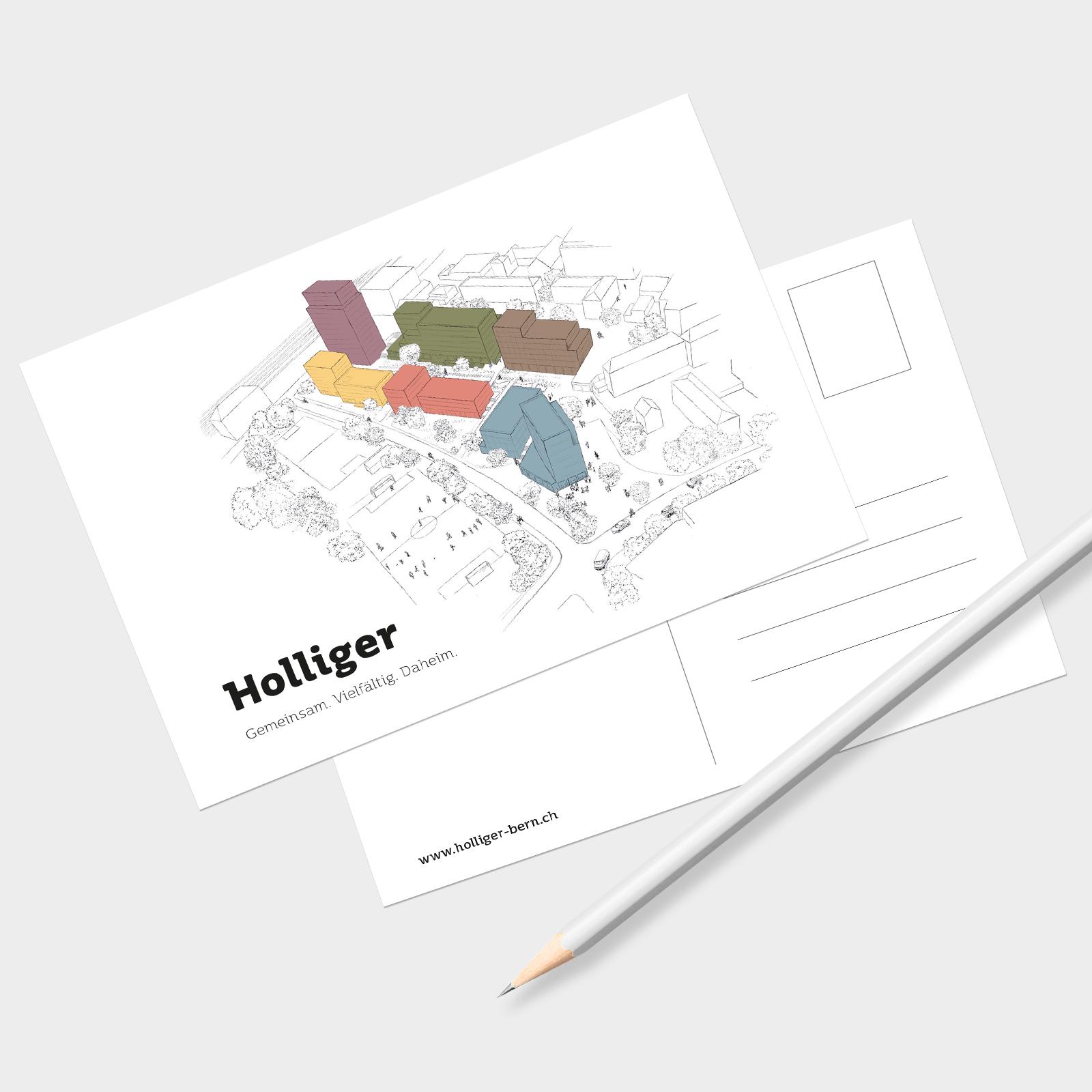 Branding Naming Logo Holliger