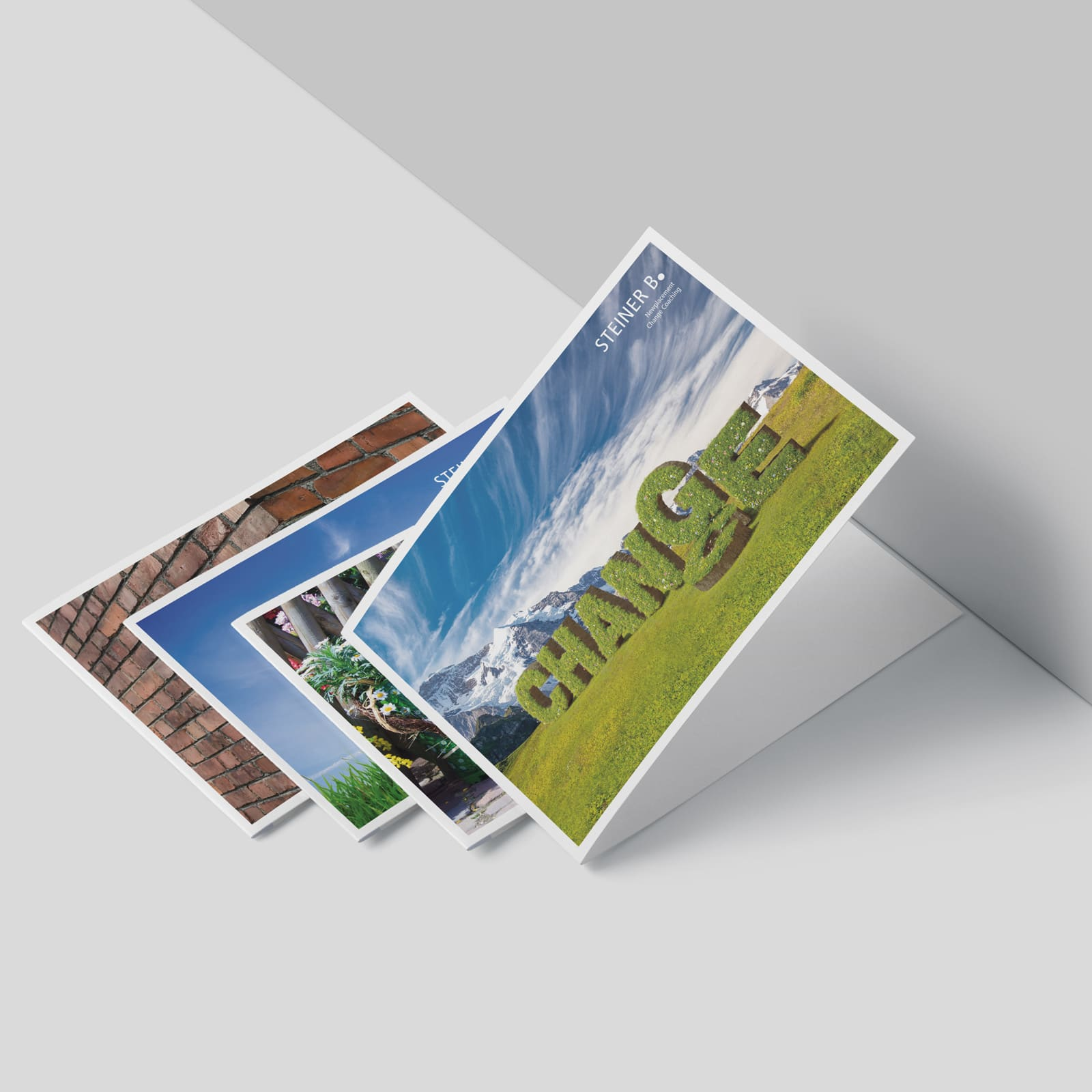 Steiner B. Postkarte