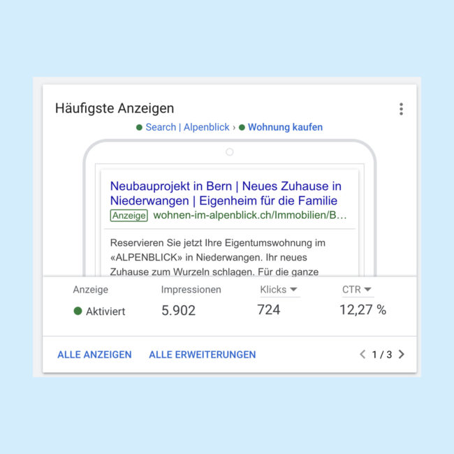 Alpenblick Google Ads
