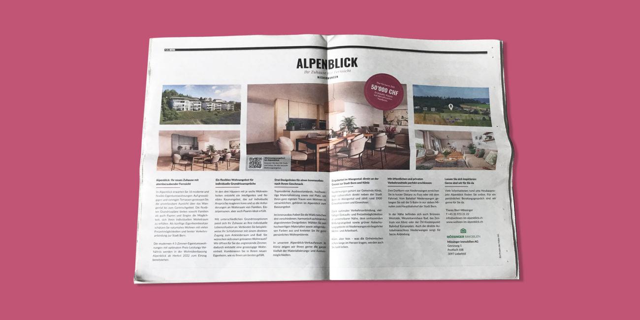 Alpenblick Publireportage