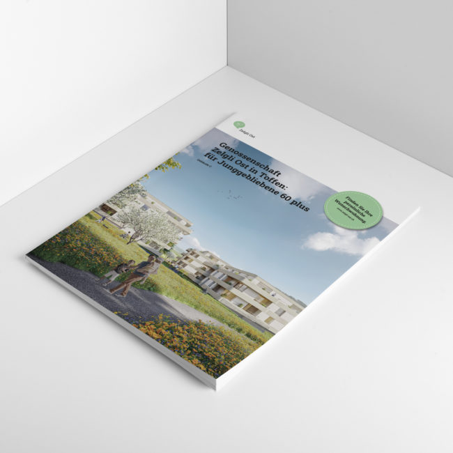 Zelgli Ost Broschüre