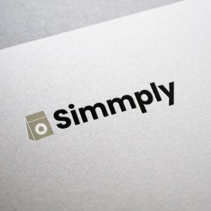 Branding Logo Name Simmply